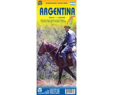 Argentina - Mapa wodoodporna