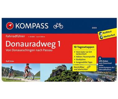 K 6464 Donauradweg von Donaueschingen nach Passau