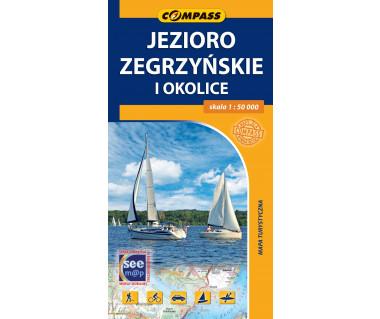 Jezioro Zegrzyńskie i okolice - Mapa