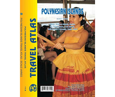 Polynesian Islands travel atlas