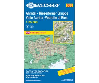 TAB035 Valle Aurina,Vedrette di Ries