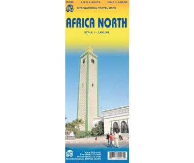 Africa North - Mapa