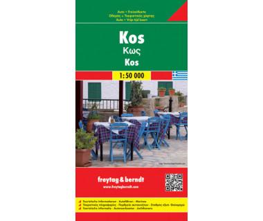 Kos - Mapa