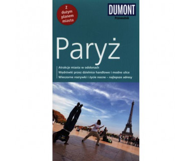 Paryż (z planem miasta)