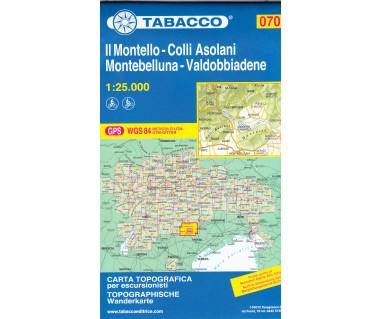 TAB070 Il Montello - Colli Asolani - Montebelluna - Valdobbiadene