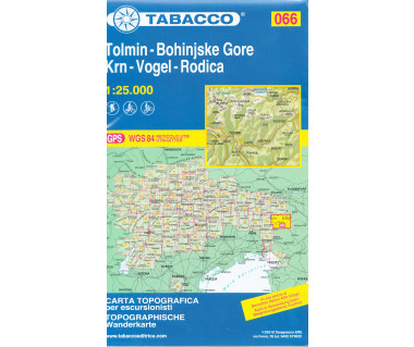 TAB066 Tolmin-Bohinjske Gore Krn - Vogel - Rodica