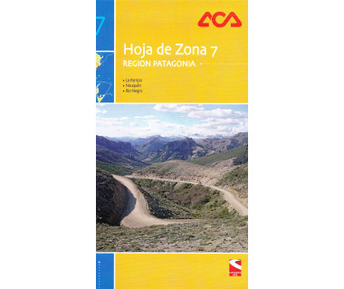 Hoja de Zona 7 - Region Patagonia. La Pampa, Neuquen, Rio Negro