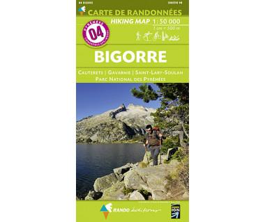 Pyrenees (4) Bigorre - Mapa