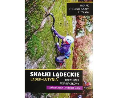 Skałki Lądeckie, Lądek-Lutynia przewodnik wspinaczkowy