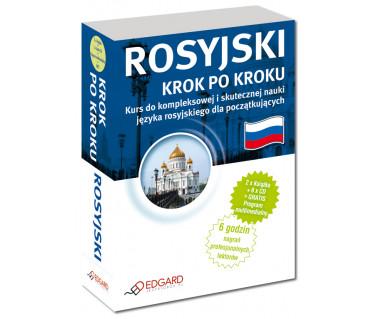 Rosyjski. Krok po kroku (2xksiążka + 6xCD)