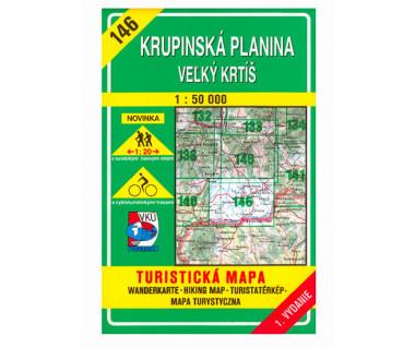 S146 Krupinska Planina-Velky Krtis - Mapa