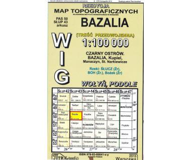 WIG 50/43 Bazalia (plansza) reedycja z 1931 r.