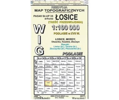 WIG 40/35 Łosice (plansza) reedycja z 1931 r.