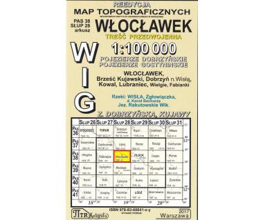 WIG 38/28 Włocławek (plansza) reedycja z 1930 r.