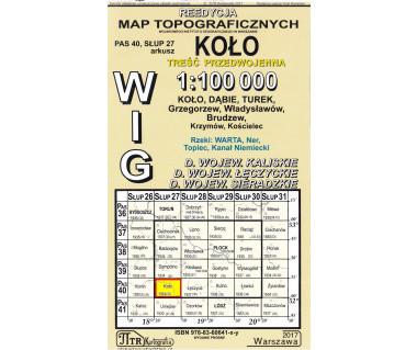 WIG 40/27 Koło (plansza) reedycja z 1934 r.