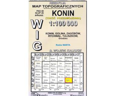 WIG 40/26 Konin (plansza) reedycja z 1935 r.