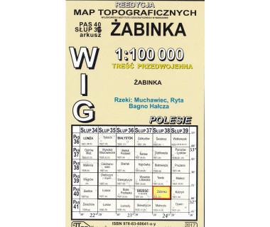 WIG 40/38 Żabinka (plansza) reedycja z 1931 r.