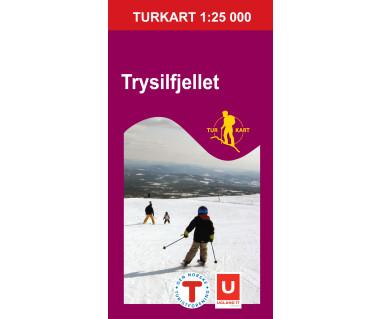 Trysilfjellet - Mapa turystyczna