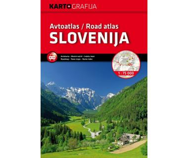 Avtoatlas/Road atlas Slovenija