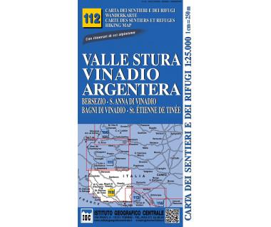 IGC 112 Valle Stura, Vinadio, Argentera
