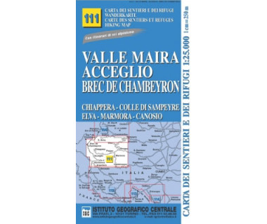 IGC 111 Valle Maira, Acceglio, Brec de Chambeyron
