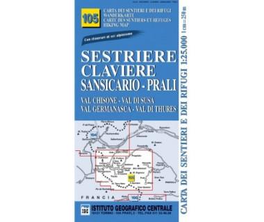 IGC 105 Sestriere, Calaviere, Sansicario-Prali