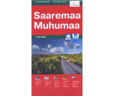 Saaremaa, Muhumaa - Mapa