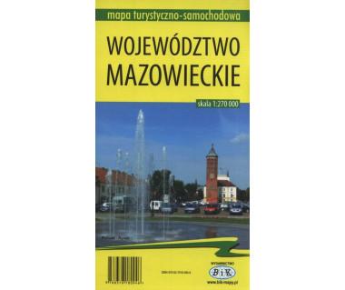 Województwo Mazowieckie mapa turystyczno - samochodowa