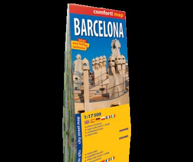 Barcelona plan laminowany