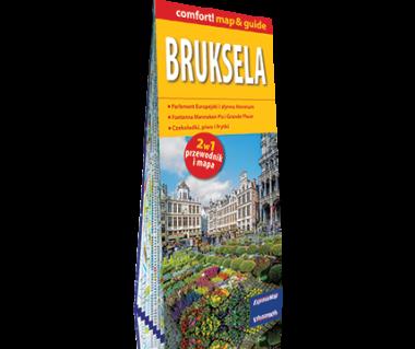 Bruksela (mapa+miniprzewodnik)