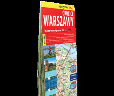 Okolice Warszawy mapa turystyczna