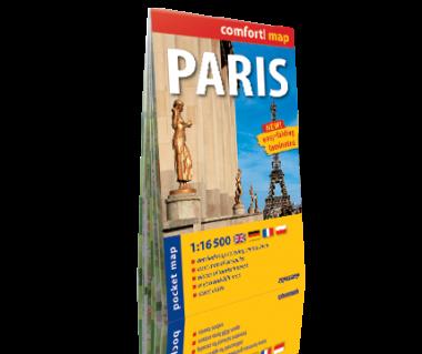 Paris plan laminowany kieszonkowy