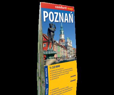 Poznań plan laminowany