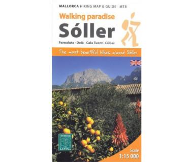 Soller - Mallorca hiking map & guide - MTB ENGLISH!