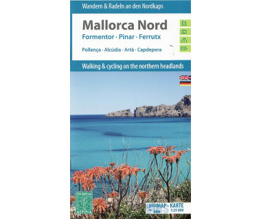 Mallorca Nord hiking & cycling map & guide