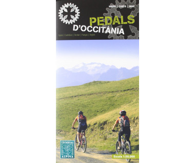 Pedals d'Occitania BTT bicycle map&guide