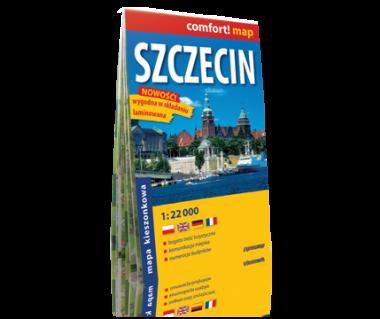 Szczecin plan laminowany kieszonkowy