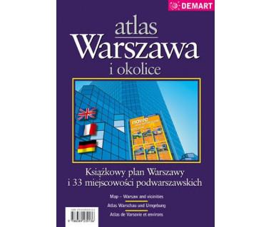 Warszawa i okolice atlas