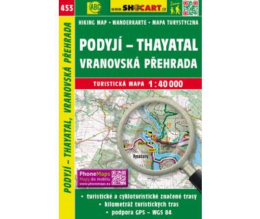 CT40 453 Podyji - Thayatal, Vranovska Prehrada