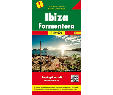 Ibiza, Formentera - Mapa