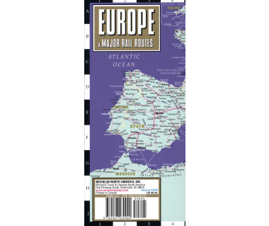 Streetwise Europe & Major Rail Routes