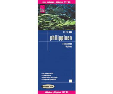 Philippinen - Mapa wodoodporna