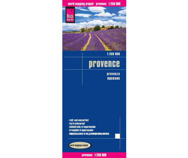 Provence - Mapa wodoodporna