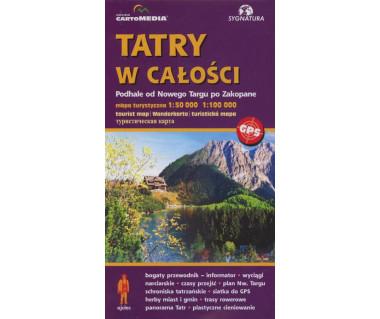 Tatry w całości. Podhale od Nowego Targu po Zakopane
