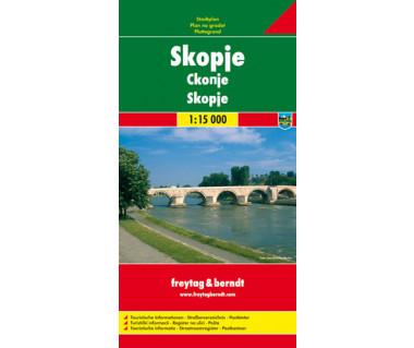 Skopje - Mapa