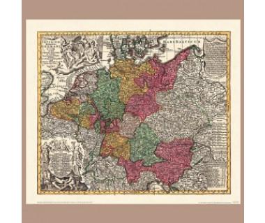 Niemcy - Święte Imperium Rzymskie reprint, ok. 1730 r.
