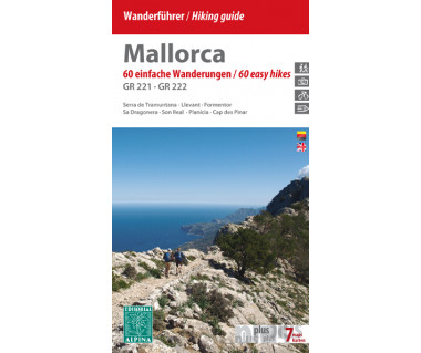 Mallorca hiking guide GR221-GR222 - Mapa