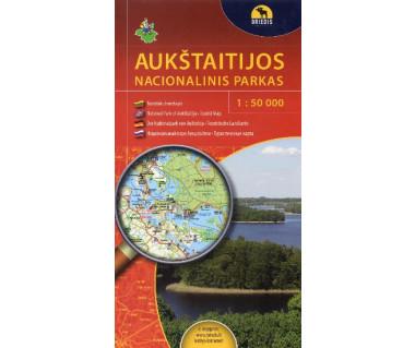 Aukstaitijos Nacionalinis Parkas - Mapa