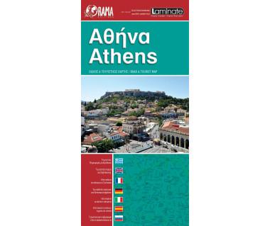 Athens - Mapa