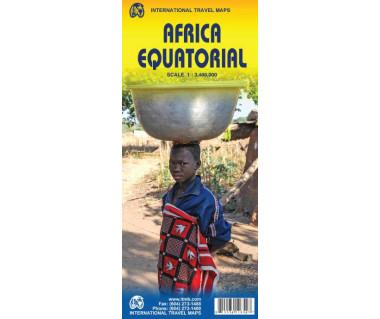Africa Equatorial - Mapa